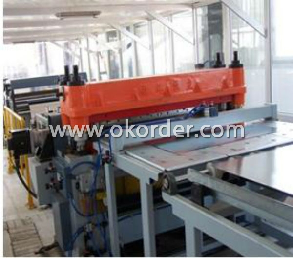Cutting Line for Tinplate