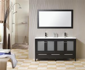 GLASS DOOR DECO BATHROOM FURNITURE
