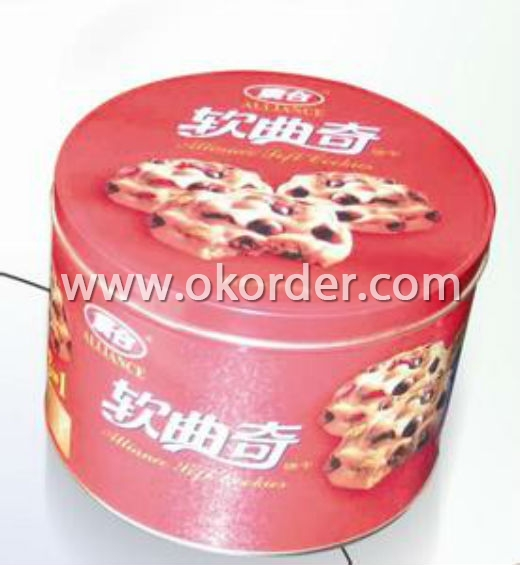 Tinplate For Cookie Can