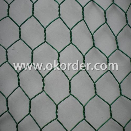 pvc chicken wire netting
