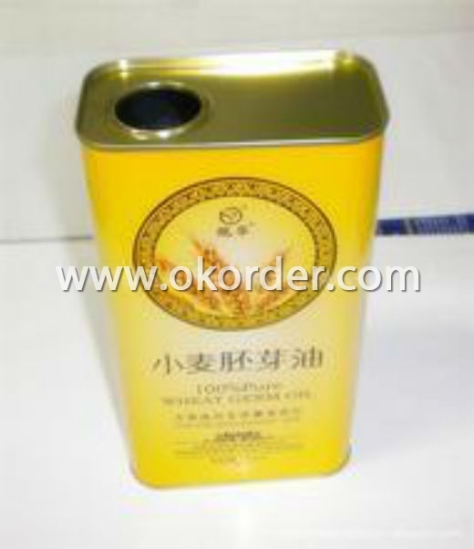Tinplate For Edible Oil