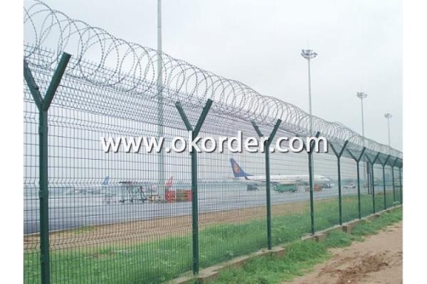 Stainless Steel Razor Wire Usage