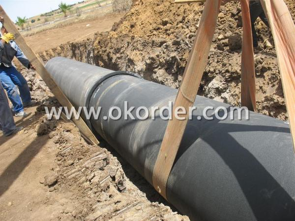 Push-On joint T Typeductile iron pipe