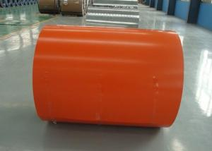Prepainted Galvanized Steel-Orange