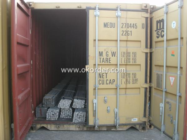 Loaded in Container