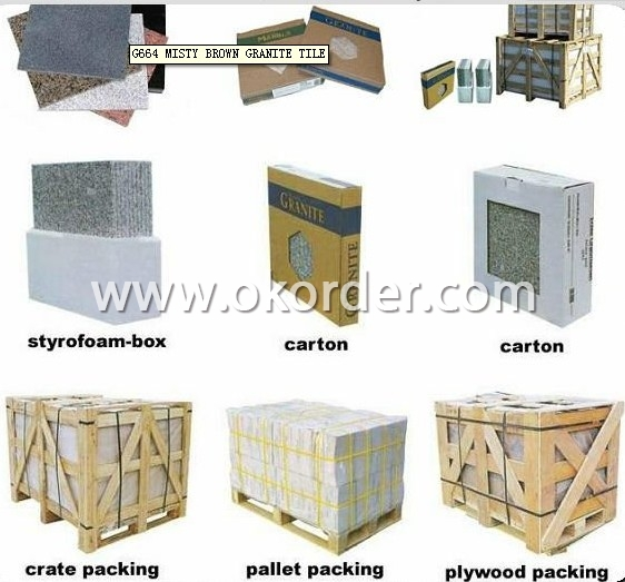 Marble Tiles of Grey Net M058  packing