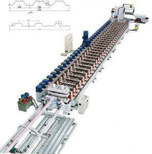 Metal Deck Roll Forming Machine
