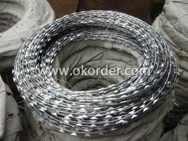 Stainless Steel Razor Wire Packing