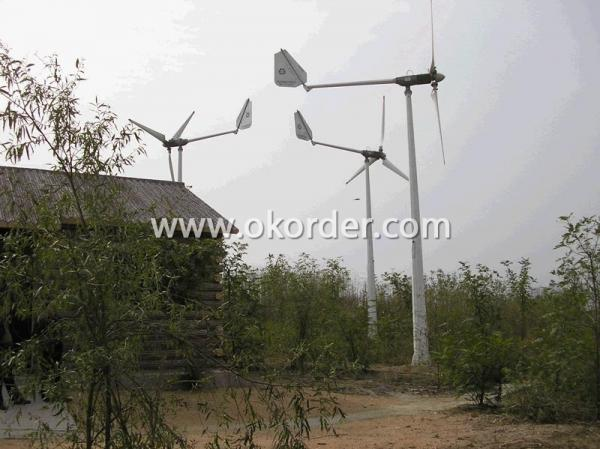 CNBM-3KW Wind Turbine On the Islands