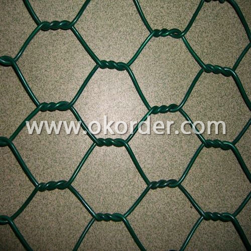pvc  hexagonal wire netting