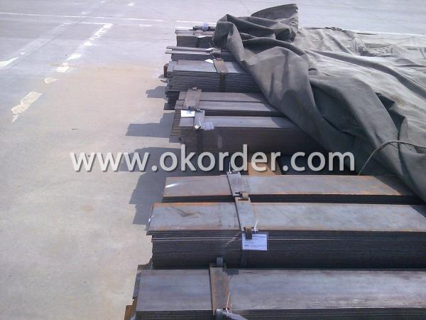 Marking the High Quality Mild Steel Flat Bar with Tags