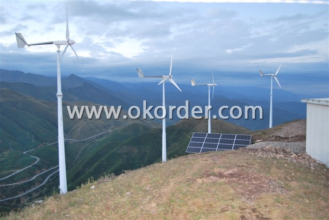 CNBM-2KW Wind Turbine On Hills