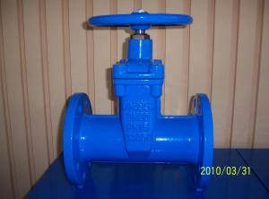 Non-rising Stem Resilient Dutile Iron Gate Valve