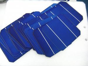 Mono Solar Cell 125mm 125 mm 125 mm  0.5 mm
