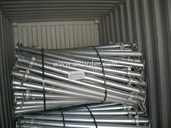Cold Galvanized Adjust U-head With Length 700mm