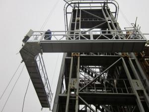 Suspended Platform With Special Shape