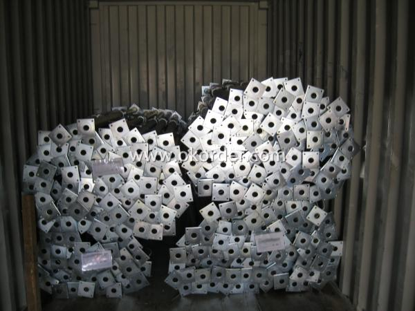 Cold Galvanized Adjust U-head With Length 500mm