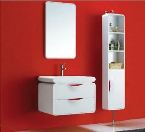 BATHROOM FURNITURE/White Brown