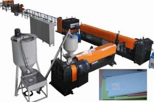 Plastic Machinery For Xps Foam Board