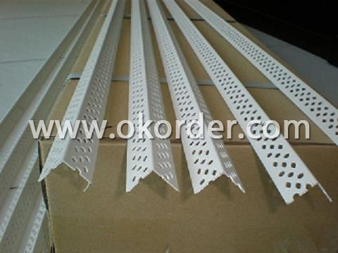 PVC Corner Bead With Fiberglass Screen Mesh: