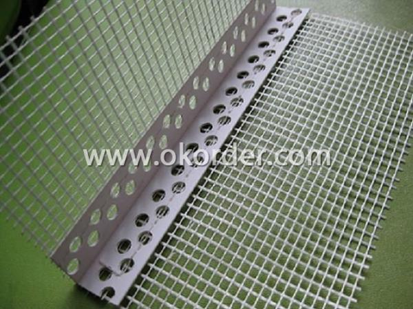 Buy Pvc Corner Bead With Fiberglass Screen Wire Mesh Price