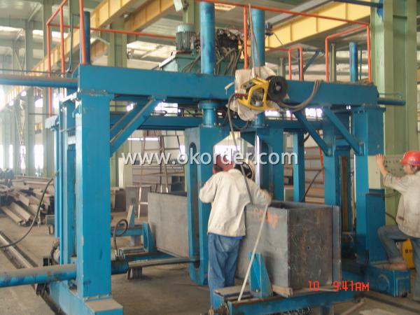 steel structure component fitting-up machine