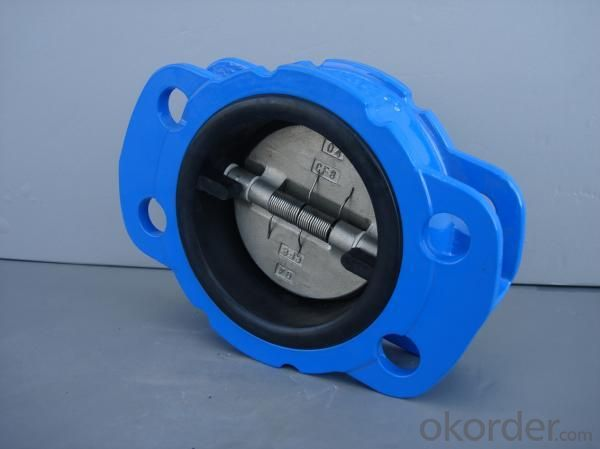 Wafer Type Dual Plate Check Valves
