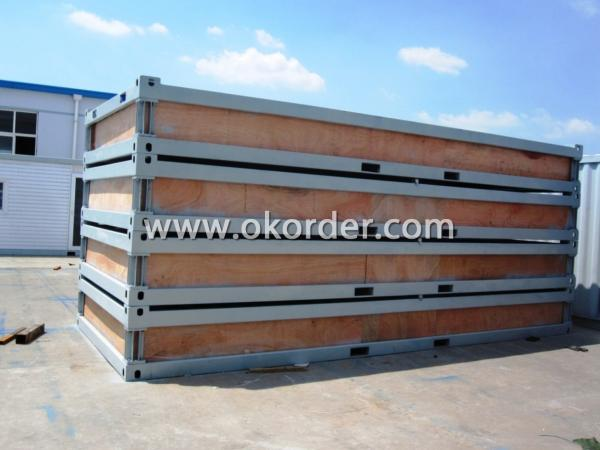 Packing container house