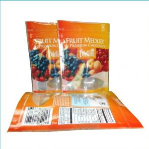 Plastic Dried Food Bag With  Clear Window