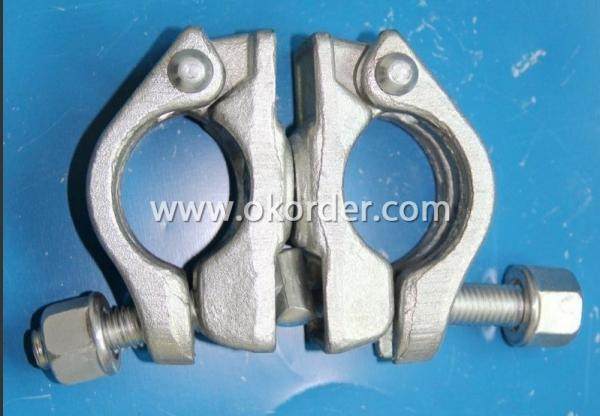 Hot Dip Galvanized German Type Swivel Coupler