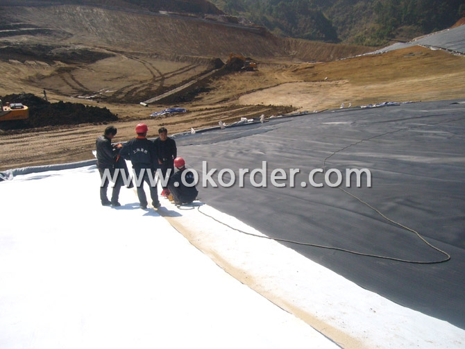 Application of HDPE Geomembrane