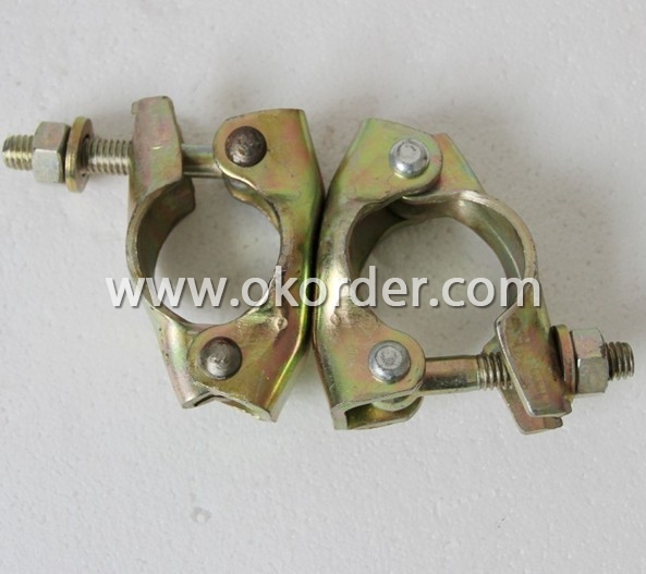 Hot Dip Galvanized British Type Swivel Coupler