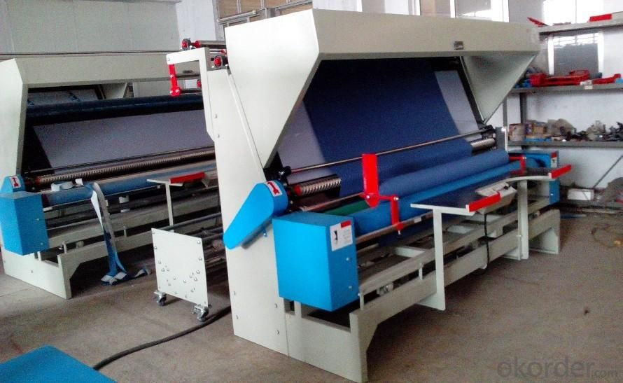 Tubular Fabric Edge-Cutting Winding Machine