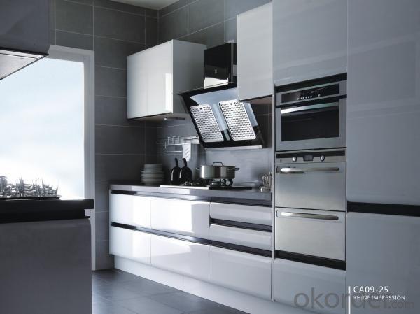 Lacquer Kitchen Cabinet CC002