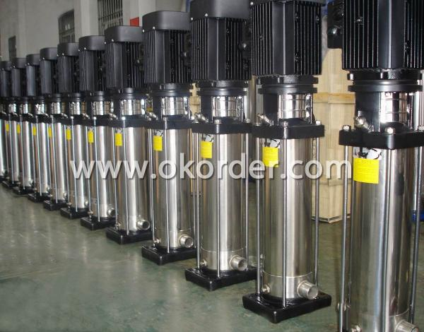 Vertical Stainless Steel Centrifugal Pump