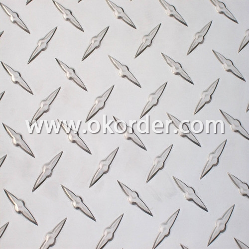 Diamond Embossed Aluminum Coil