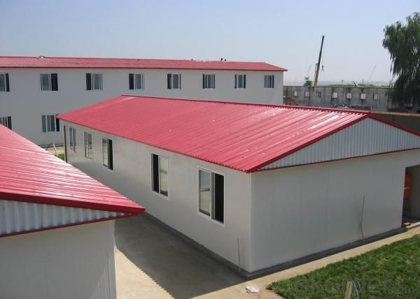 New Type ZA/ZB Manufactured Homes Made in China