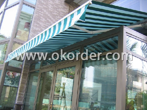 Manual Operation Retractable Awning