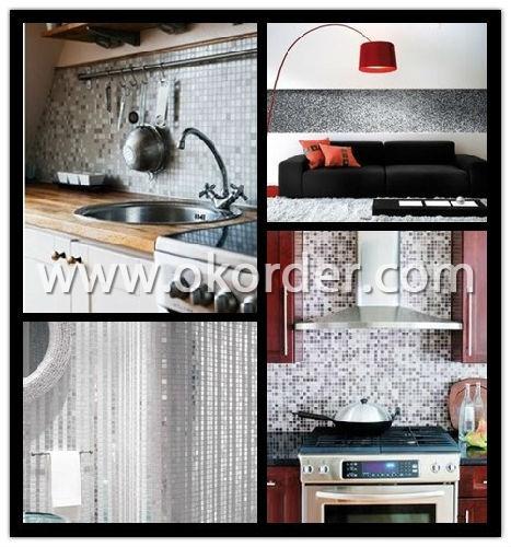 Glass Glass Mosaic Light Gray CMAX-SPM002