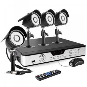 8CH Security DVR Outdoor CCTV Camera System