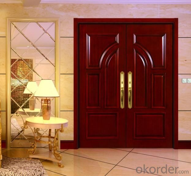 Wooden Door with Composite Material for Interior Room