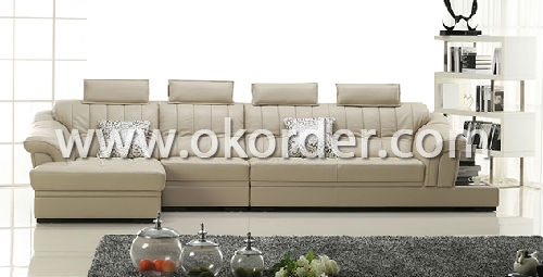 Modern Furniture Set Of Leather Sofa