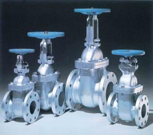 Cast Steel Flanged Gate Valves