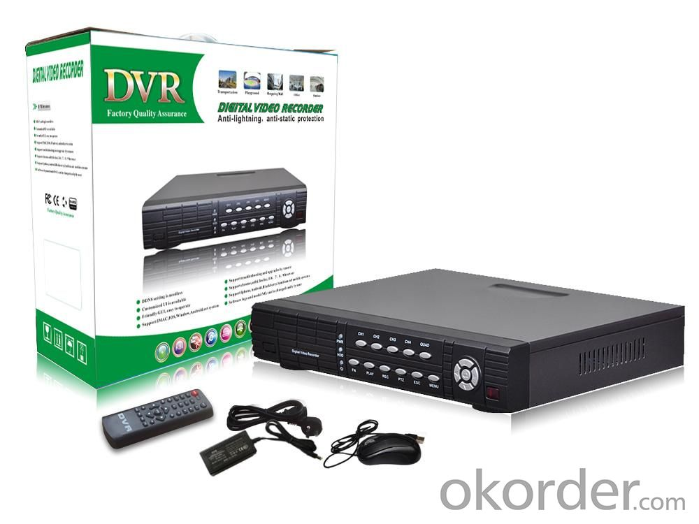 4CHANNEL DVR H.264 CCTV SYSTEM