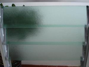 Colored/Patterned Louver Glass