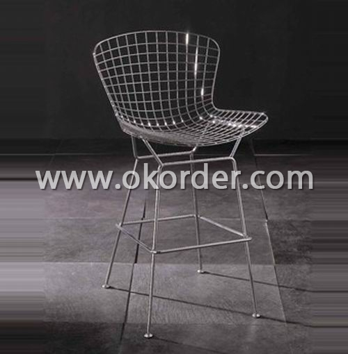 Wire mesh bar chair