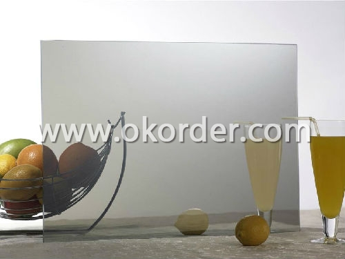 4mm,5.5mm,6mm,8mm,10mm colored reflective glass for home decorations