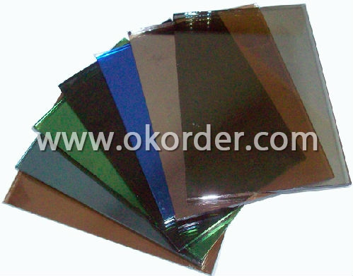 4mm,5mm,5.5mm,6mm dark grey,Euro grey,French green,dark green,pink, bronze,Ford blue,ocean blue, dark blue reflective glass for curtain walls