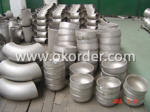 Stainless Steel Fitting elbow cap