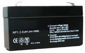 Valve Regulated Lead Acid Battery 6V/1Ah